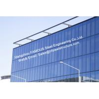 Quality Pre-glazed Double Skin Unitized Glass Façade Curtain Wall Hidden Frame Design and Installation for sale