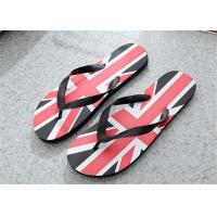 Wholesale Camouflage Painted Patterns Fashion Flip Flops Mens Beach Slippers PVC Upper from china suppliers