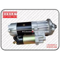 Wholesale 1-81100341-3 Isuzu Cxz Parts Starter For CXZ51k CYZ51K CYH52 EXZ51K 6WA1 from china suppliers