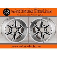 Wholesale SUV 15inch Silver4x4 Off Road Wheels Lip Aluminum Alloy With Custom Caps from china suppliers