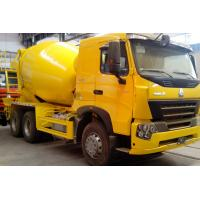 Wholesale SINOTRUK HOWOA7 Concrete Mixer Equipment A7 Pump Concrete Truck 10CBM 371HP 6X4 LHD from china suppliers