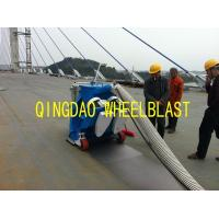 Buy cheap Hard Floor Polishing Concrete shot blasting machine Road surface shot blasting machine from wholesalers