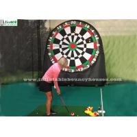 Buy cheap Kids And Adults Giant Inflatable Golf Dart Boards With Velcro Balls from wholesalers