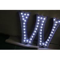 Wholesale Illuminated Metal Fairground LED Letter Lights Sign With AC Plug Power from china suppliers