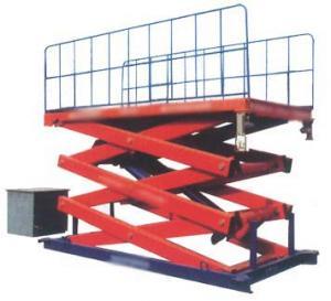 Wholesale SJG 0.9 900 kg Hydraulic Lift Platform Aerial Working Platform from china suppliers