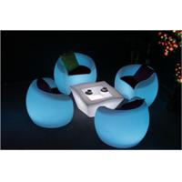 Wholesale High Top LED Illuminated Cocktail Bar Tables Waterproof For Events from china suppliers
