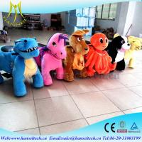 Wholesale Hansel moving animals battery operated plush animals china fun equipment baby toys electric motor car coin operated kid from china suppliers