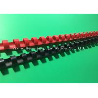 Wholesale Colorful 1/2 Inch Wire Binding Combs 100Pcs / Box With Flexible Teeth from china suppliers