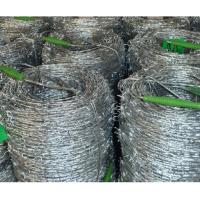 Quality Galvanized & PVC Coated Barbed wire for sale