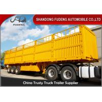 Wholesale 3 Axles Side Wall Semi Trailer 60 Ton Box Semi Trailer With 16 T Or 18 T axle from china suppliers