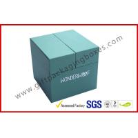 Wholesale Special Emerald Pop Up Custom Gift Boxes Silver Logo Foiled Promotion Gift Package from china suppliers