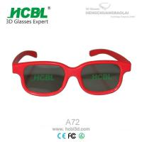 Wholesale Red polarized 3D glasses for Master image / depthQ / Volfoni / X-mirrow / Passive 3D TVs from china suppliers