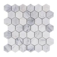 Wholesale premium colorful Hexagon Stone Mosaic Tile For Bathroom Remodeling from china suppliers