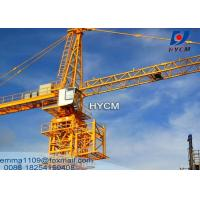 Quality TC6018 Tower Crane Building Construction Tools And Equipment 60M Jib for sale
