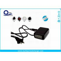 Wholesale CE Approved Multi Port USB Tablet Charger , UK / AU USB Multi Plug Charger from china suppliers