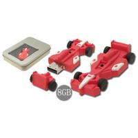 Wholesale F1 car shape soft plastic PVC USB Flash Drives disks with 2G, 4G for boys gifts  (MY-U246) from china suppliers