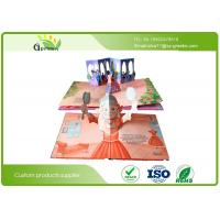Wholesale Recycled Eco Friendly Kids Pop Up Books , Paperboard Perfect Binding Amazing Pop Up Books from china suppliers