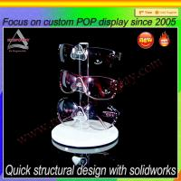 Buy cheap Countertop clear acrylic sunglasses display rack from wholesalers
