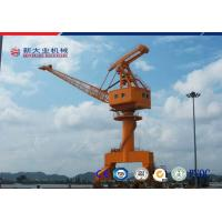 Wholesale Travelling Slewing Crane , Jib Portal Crane With Green Noise Insulation Materials from china suppliers