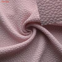 Wholesale F5790 lady fashion fabric poly crinkle crepe with spandex from china suppliers
