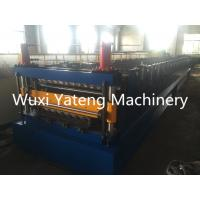 Quality Double Layer Roll Forming Machine With Hydraulic Cutting system, mirror polished rollers and spcers for sale