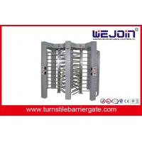 Wholesale 50HZ / 60HZ Controlled Access Full Height Turnstile Single Direction from china suppliers