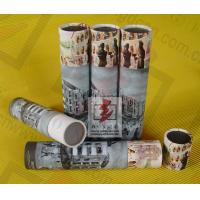Wholesale Perfume Paper Recycling Containers / Custom Paper Tube Containers from china suppliers