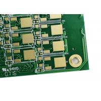 Wholesale Green Multilayer PCB Board Fabrication Isola FR408 / FR408HR / IS680-345 from china suppliers