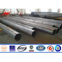 Wholesale Outdoor Electrical Power Pole Power Distribution Steel Transmission Line Poles from china suppliers