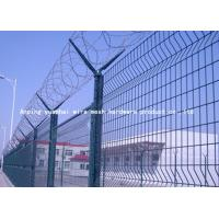 Buy cheap Sun Resistant Razor Barbed Wire Fence , Pvc Coated Welded Wire Mesh Panels from wholesalers