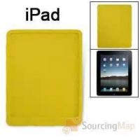 Wholesale Fashion yellow color with LEGO Blocks design for apple ipad silicone Cases with logo from china suppliers