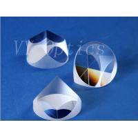 Quality Optical quartz glass pyramid prism supplier from China for sale