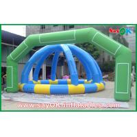Wholesale Commercial Outdoor Green Inflatable Archway For Promotion W7mxH4m from china suppliers