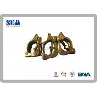 Wholesale Triple Swivel Scaffolding Clamps with Galvanized Golden Electro Gal from china suppliers