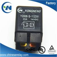 Quality Socket terminal 20a 14v relay for compressor of automatic air conditioner for sale