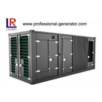 Wholesale 1mw Diesel Container Generator Set Powered By Cummins Engine Water Cooled from china suppliers