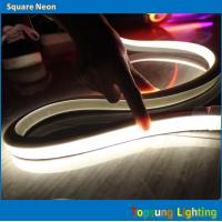 Wholesale 2016 new white 120v square flexible LED neon rope lightings from china suppliers