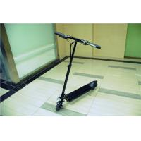 Wholesale Energy Saving Handy Standing Electric Scooter with Rechargeable Battery , Black from china suppliers