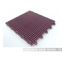 Wholesale Recyclable Indoor Athletic Floor Mats , Playground Sports Flooring from china suppliers