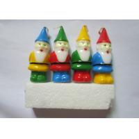 Wholesale Cute Christmas Party Decoration Pick Candles Santa Claus Shaped Art Candles from china suppliers