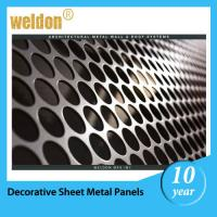 Wholesale Stainless Steel Architectural decorative perforated steel panels from china suppliers