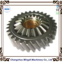 Wholesale Brass Metal 1 - 22M Steel Spur Gear Transmission Parts For Toyota Car , HRC45-62 from china suppliers