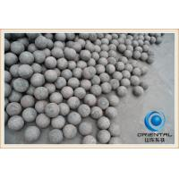 Wholesale 2.5 Inch Forged Grinding Media Mill Balls with ISO9001, Forged Grinding Balls from china suppliers