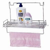 Wholesale chrome plated bathroom wire rack from china suppliers