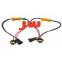 Wholesale Red Trailer Hitch Wiring Harness , Flat Plug Trailer Wiring Kit 15A Rated Current from china suppliers