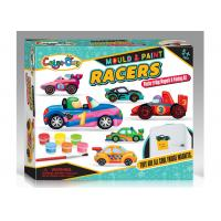 Quality Safe Non - Toxic Plaster Coloring Toy Car For Child Age 5 12 Molds EN71  ASTM for sale