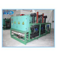 Wholesale Air cooled three screw compressor rack high temperature condensing unit for blast freezer from china suppliers