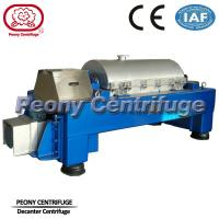 Wholesale Automatic  Decanter Centrifuge / Centrifuge Filter System For Calcium Hypochlorite Dewatering from china suppliers