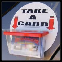 Wholesale Car window business card holder from china suppliers