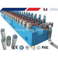 Quality Windows Octagonal Pipe Cold Roll Forming Machine For Rolling Shutter System for sale